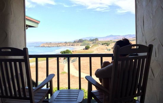 Cavalier Oceanfront Resort : Our view from the room