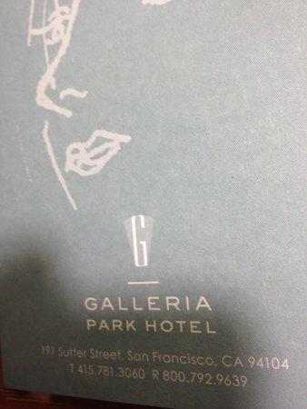 Galleria Park Hotel: Logo