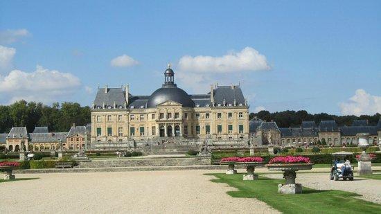 Château de Vaux-le-Vicomte : perspective