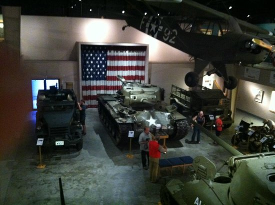 Wright Museum of WWII: The Main Military Hall