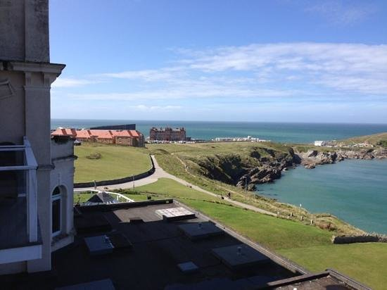 The Atlantic Hotel : From our room looking towards 'The Headland'