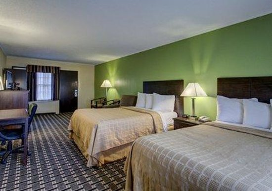 Quality Inn Barre/Montpelier : 2 Double Beds Guest Room