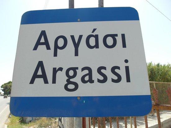 Argassi Beach Hotel : название города