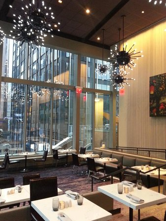 Novotel New York Times Square: Restaurant