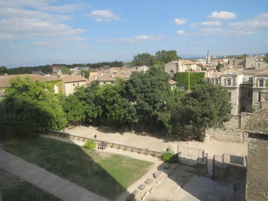 Pope's Palace (Palais des Papes): View from the top of Pope's Palace