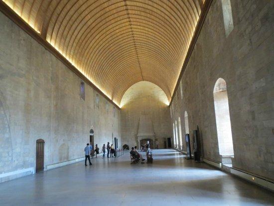Pope's Palace (Palais des Papes): Interior