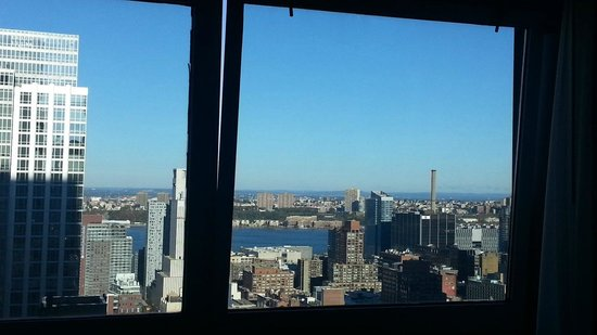 Novotel New York Times Square: Richtung Hudson River und New Jersey