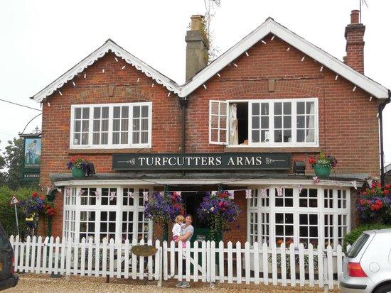 The Turfcutters Arms: Hôtel rustique avec du charme