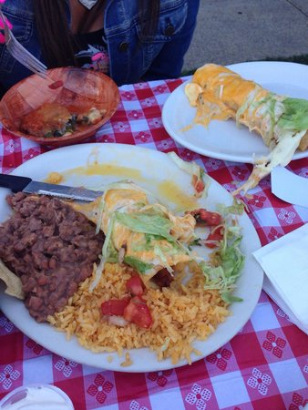 Jose's Mexican food: Very good Chimichanga dinner was very tasty. Sorry was so hungry I forgot to take the picture un