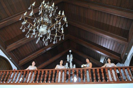 Villa Ibarra: balcony overlooking the lobby