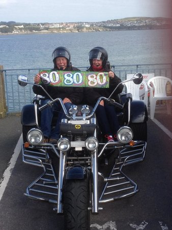 IOM Trike Tours : Bill's 80th Birthday Present - a 5 star tour of the IOM TT circuit