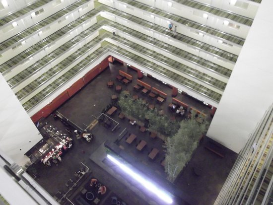 Embassy Suites by Hilton Chicago Downtown Magnificent Mile: llooking down to the lobby