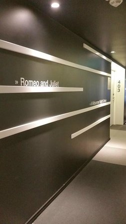 Eurostars Book Hotel: Book Hallway