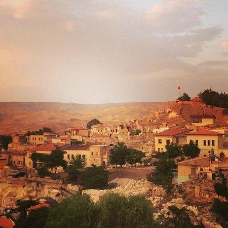 Cave Art Cappadocia: Vista desde la terraza del hotel