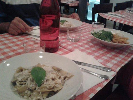 Cantina Chic : Pappardelle champignons crème de truffe
