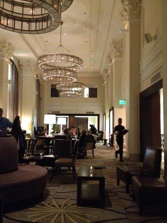 The Westin Book Cadillac Detroit: Lobby bar
