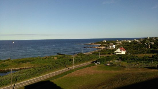 Spring House Hotel : Looking east over the Atlantic Ocean