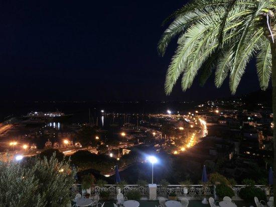 Gran Paradiso Hotel: Panorama porto notte