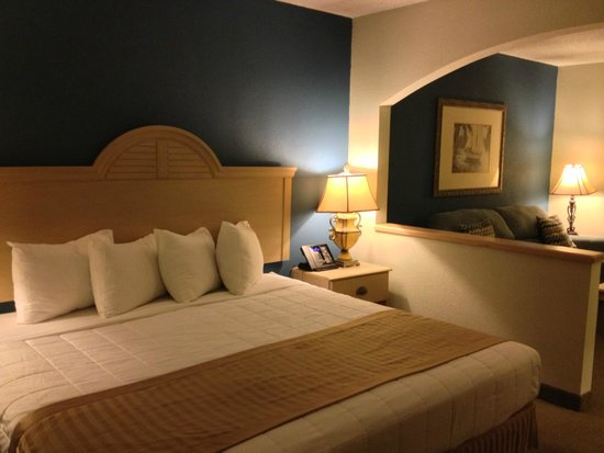 Hutchinson Island Plaza Hotel and Suites: Spacious king suite