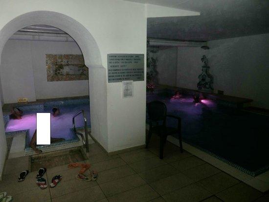 Gran Paradiso Hotel: Piscina termale