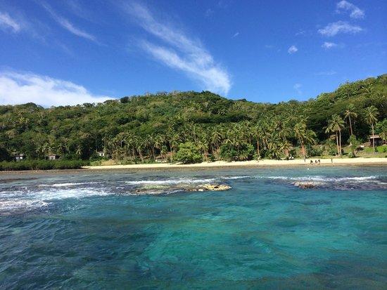 The Remote Resort - Fiji Islands : Arrival view