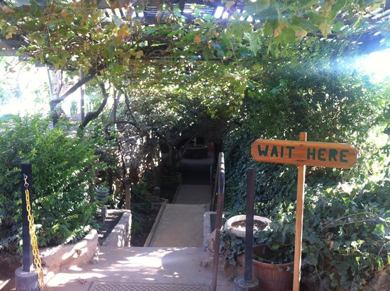 The Entrance Of The Gardens Picture Of Forestiere Underground Gardens Fresno Tripadvisor
