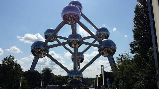 Novotel Brussels City Centre: Atomium