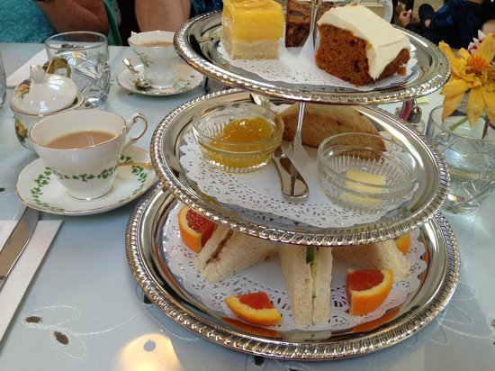 Heath's Tea Room: The Queen's Tea at Heath's Team Room
