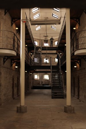 Cork City Gaol: inside