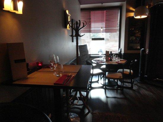 Resto Bistro Oliver : la salle du restaurant