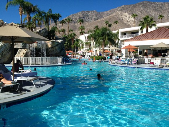 Palm Canyon Resort & Spa: Pool.
