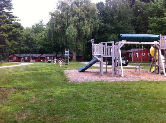 Seahorse Resort: The resort's playground