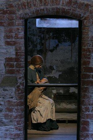 Cork City Gaol: inside cells