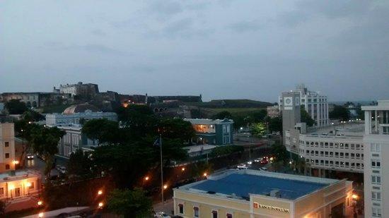 Sheraton Old San Juan Hotel: Vista do apartamento Deluxe