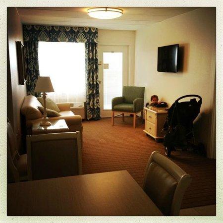 Dunes Manor Hotel & Suites: Suite - Livingroom