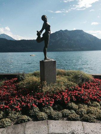 Park Weggis: photo op along Lake Lucerne in town of Weggis