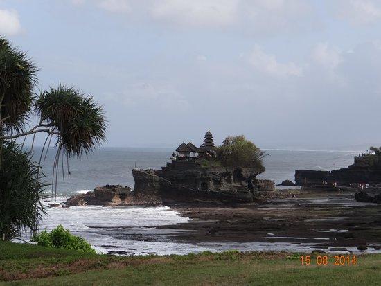 Pan Pacific Nirwana Bali Resort : Vista del Tanah Lot