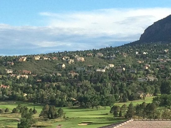 Cheyenne Mountain Resort : View from the patio