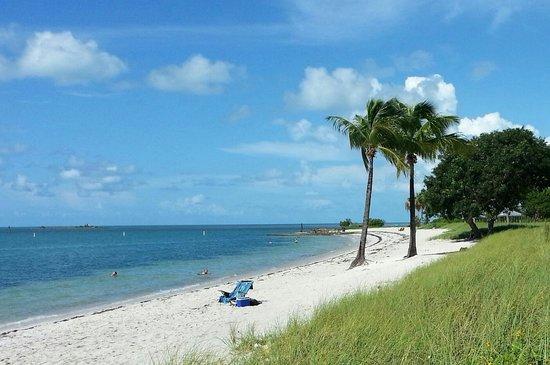 Sombrero beach right on the Atlantic Ocean