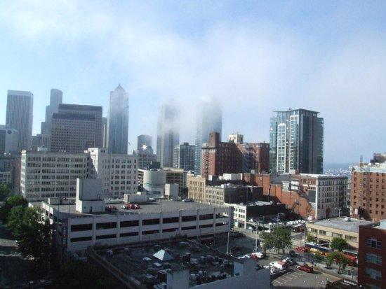Warwick Seattle: Early morning fog view