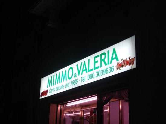 Mimmo & Valeria: L'insegna!!!