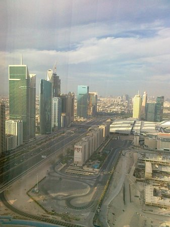 Jumeirah Emirates Towers: View from room