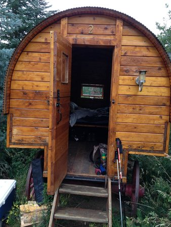 Strawberry Park Natural Hot Springs: Covered wagon #2