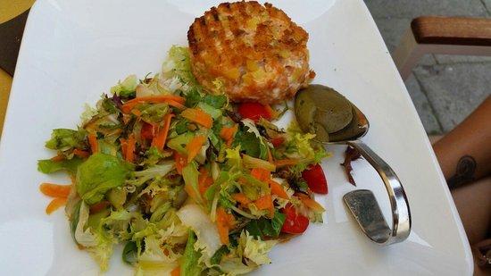 Ristoteca Oniga : Hamburgerde saumon