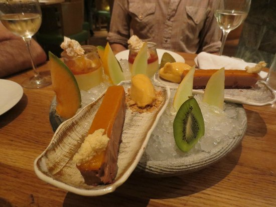 Roka Canary Wharf: and great puds too