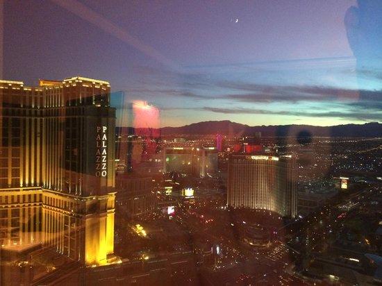 Wynn Las Vegas: View from 55th floor Wynn.