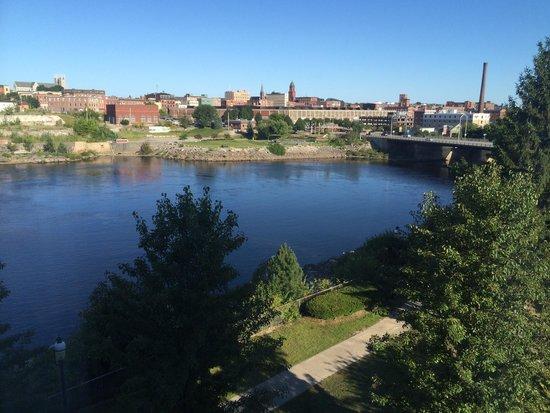 Hilton Garden Inn Auburn Riverwatch: View of river from room 428