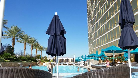 Trump International Hotel Las Vegas: View from pool chair.
