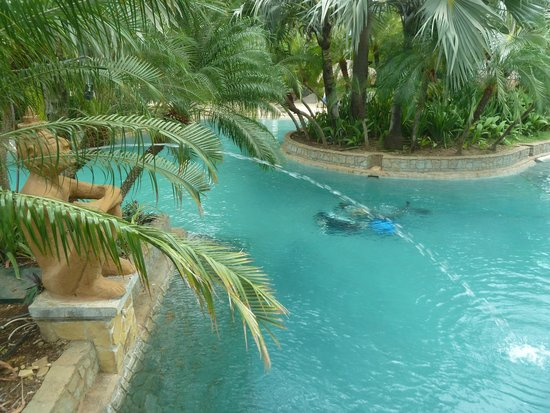"""Hotel Tamarindo Diria: This is the pool for the """"family"""" area, across the street from the beach. Our room overlooked th"""
