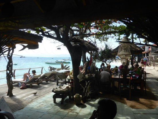 Bunga Bungalo: View from restaurant. Lovely!